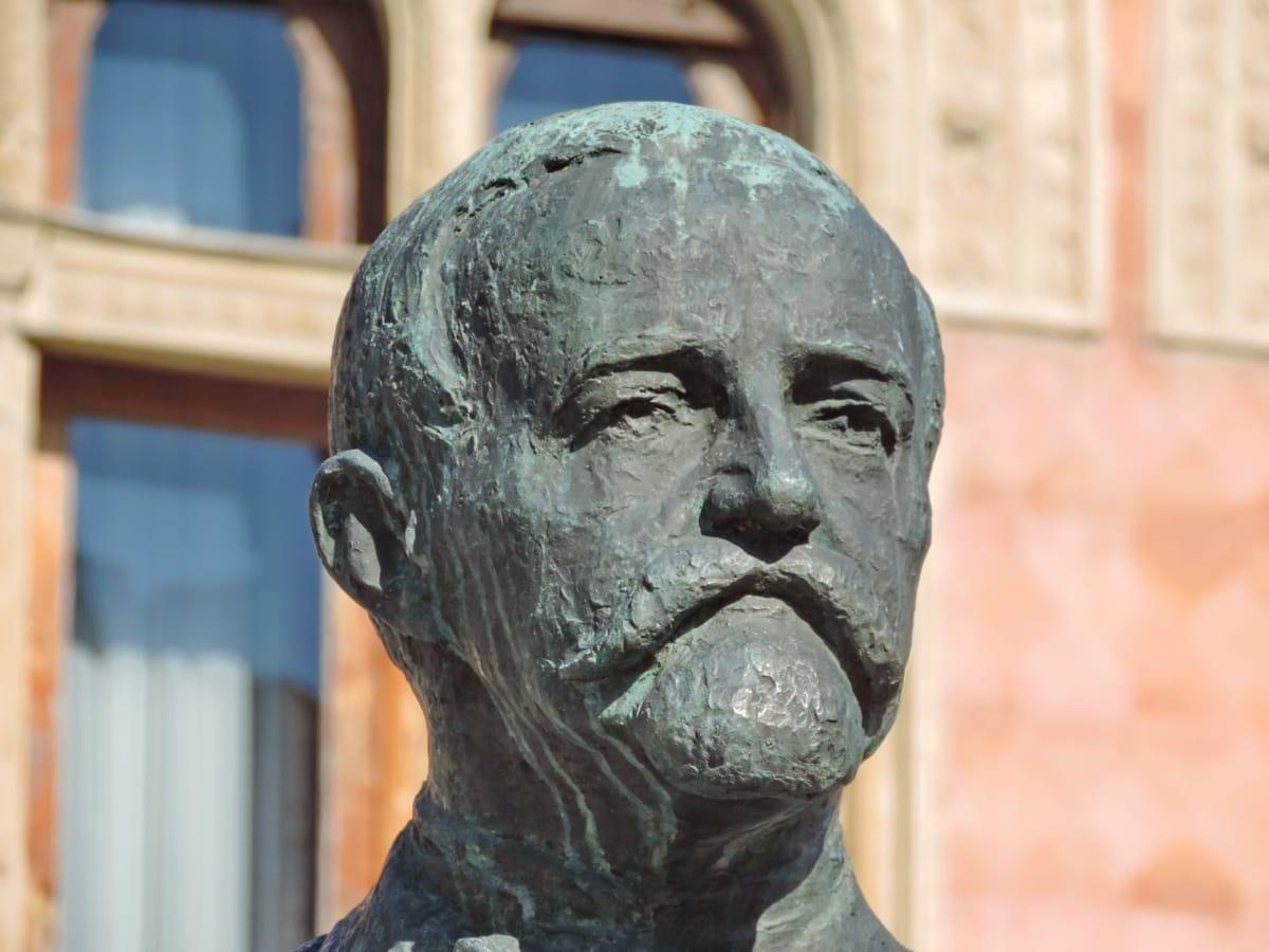 bronze, Belas Artes, feito à mão, histórico, retrato, escultura, estátua, arte
