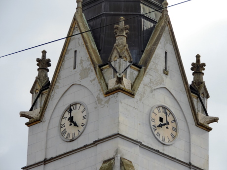 bell, christianity, church tower, creativity, Serbia, analog clock, tower, pointer