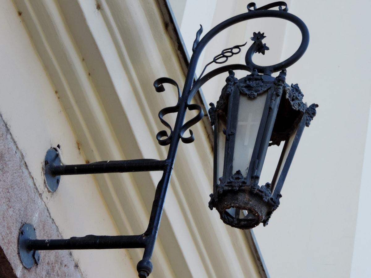 Чавун, ручної роботи, лампа, Архітектура, на відкритому повітрі, залізо, Будівля, Вулиця