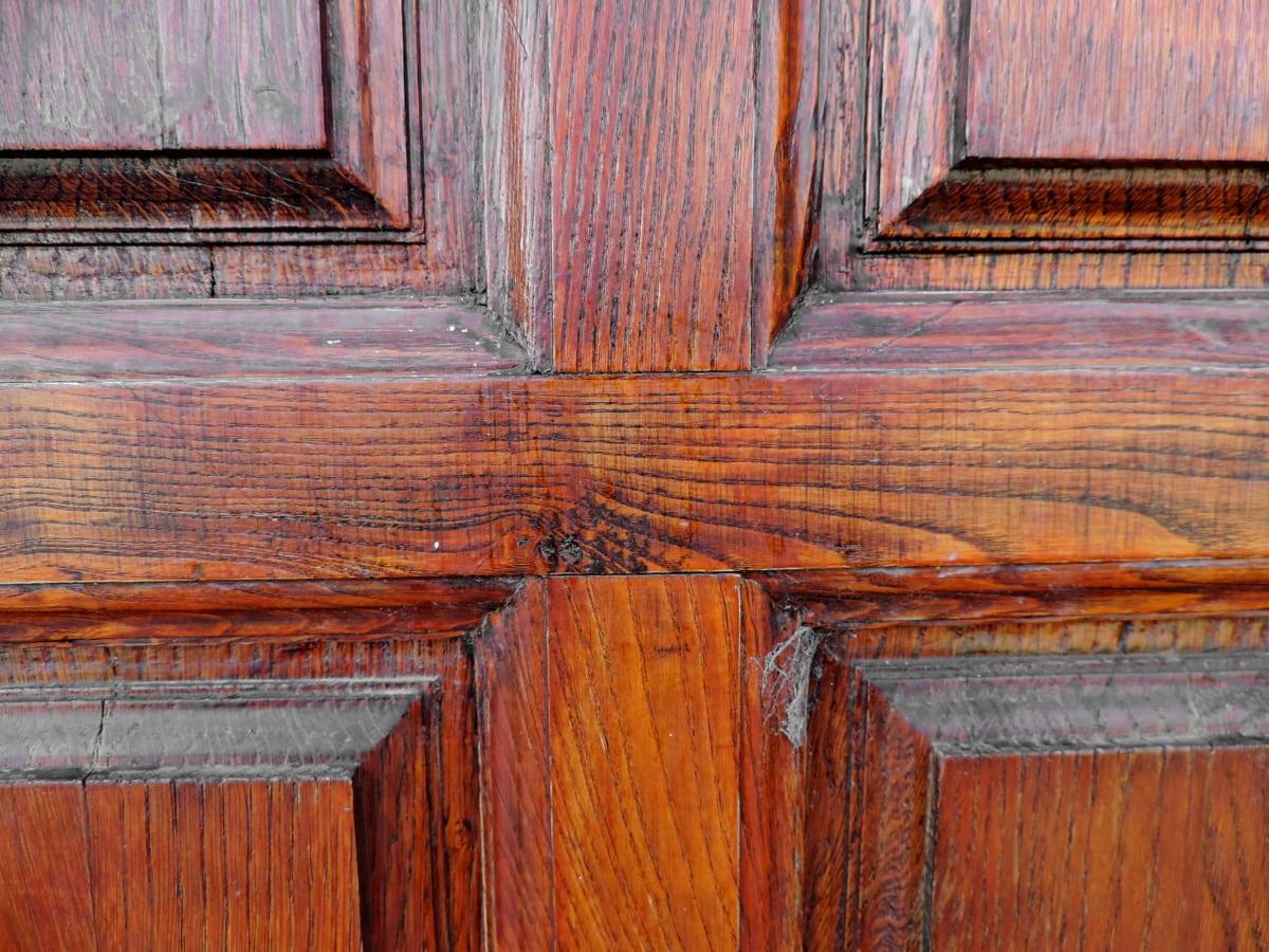 Ξυλουργικές εργασίες, Δρυς, ξύλο, ξύλινα, τοίχου, παλιά, βρώμικο, εσωτερικό
