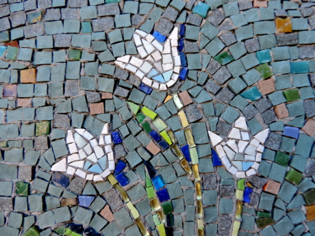 design, ornament, wall, mosaic, pattern, texture, tile, art