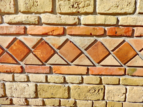 art, handmade, brick, surface, old, tile, stone, texture
