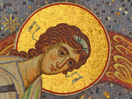 culture, saint, spirituality, art, mosaic, religion, painting, old