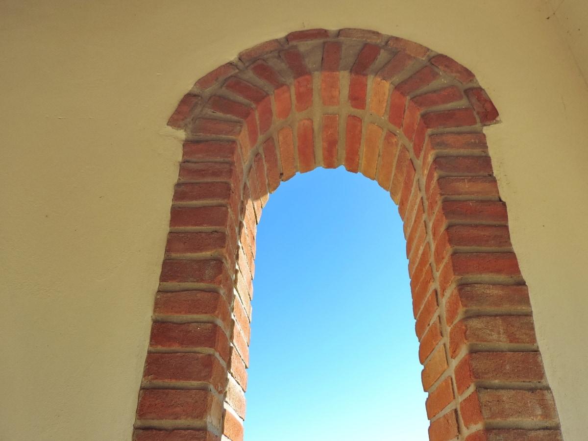 αρχιτεκτονική, καμάρα, παλιά, κτίριο, Αρχαία, τοίχου, τέχνη, σε εξωτερικούς χώρους