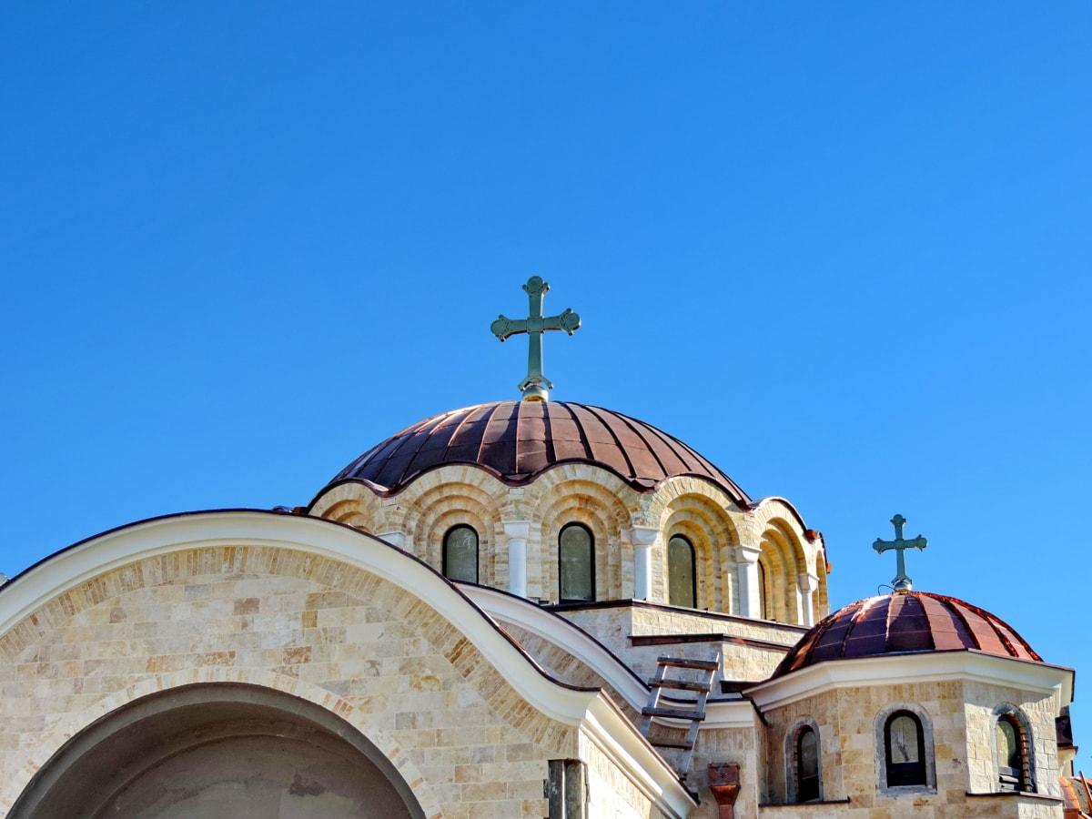 Βυζαντινή, Μοναστήρι, Ορθόδοξη, Σερβία, θρησκεία, Εκκλησία, Θόλος, Σταυρός