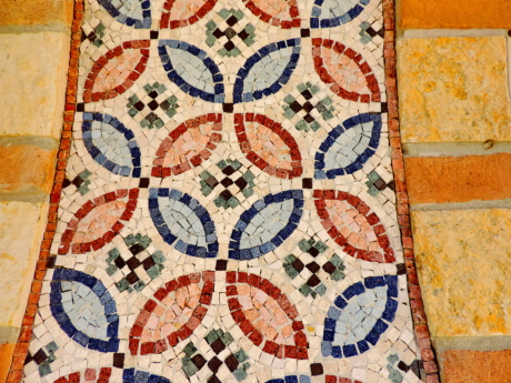 arabesque, design, mosaic, art, tile, decoration, texture, old