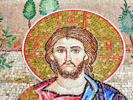 mosaic, art, old, people, wall, culture, religion, man