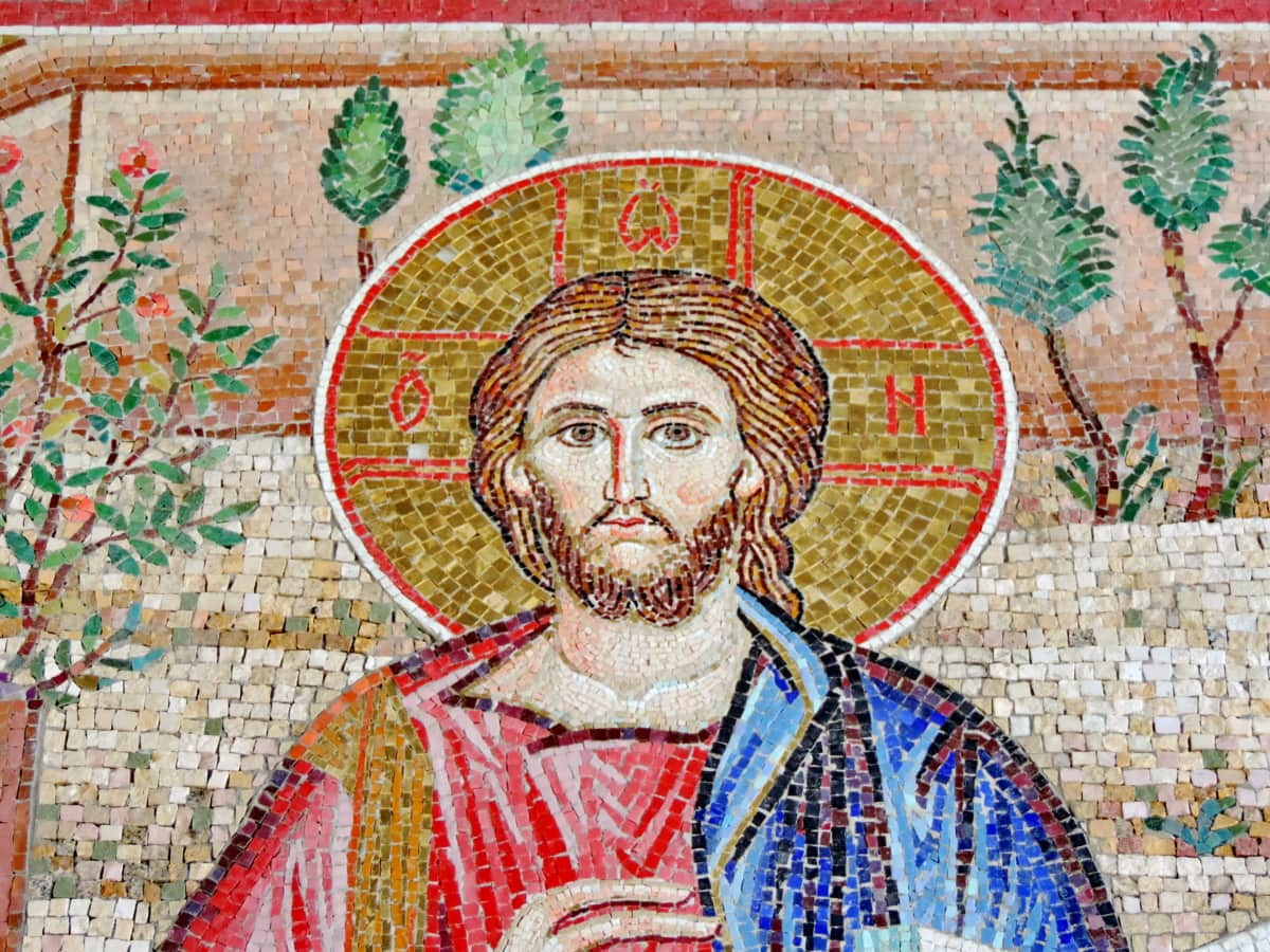 Christ, christianity, mosaic, religion, saint, art, old, culture