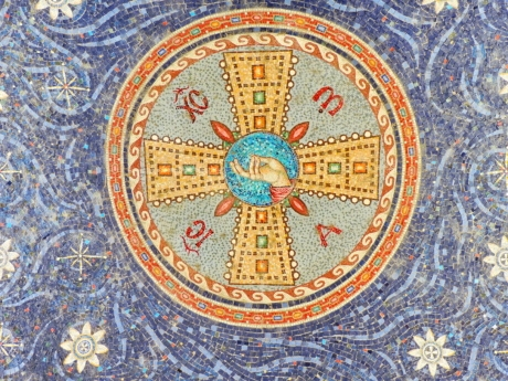 mosaic, religion, pattern, device, art, texture, abstract, decoration