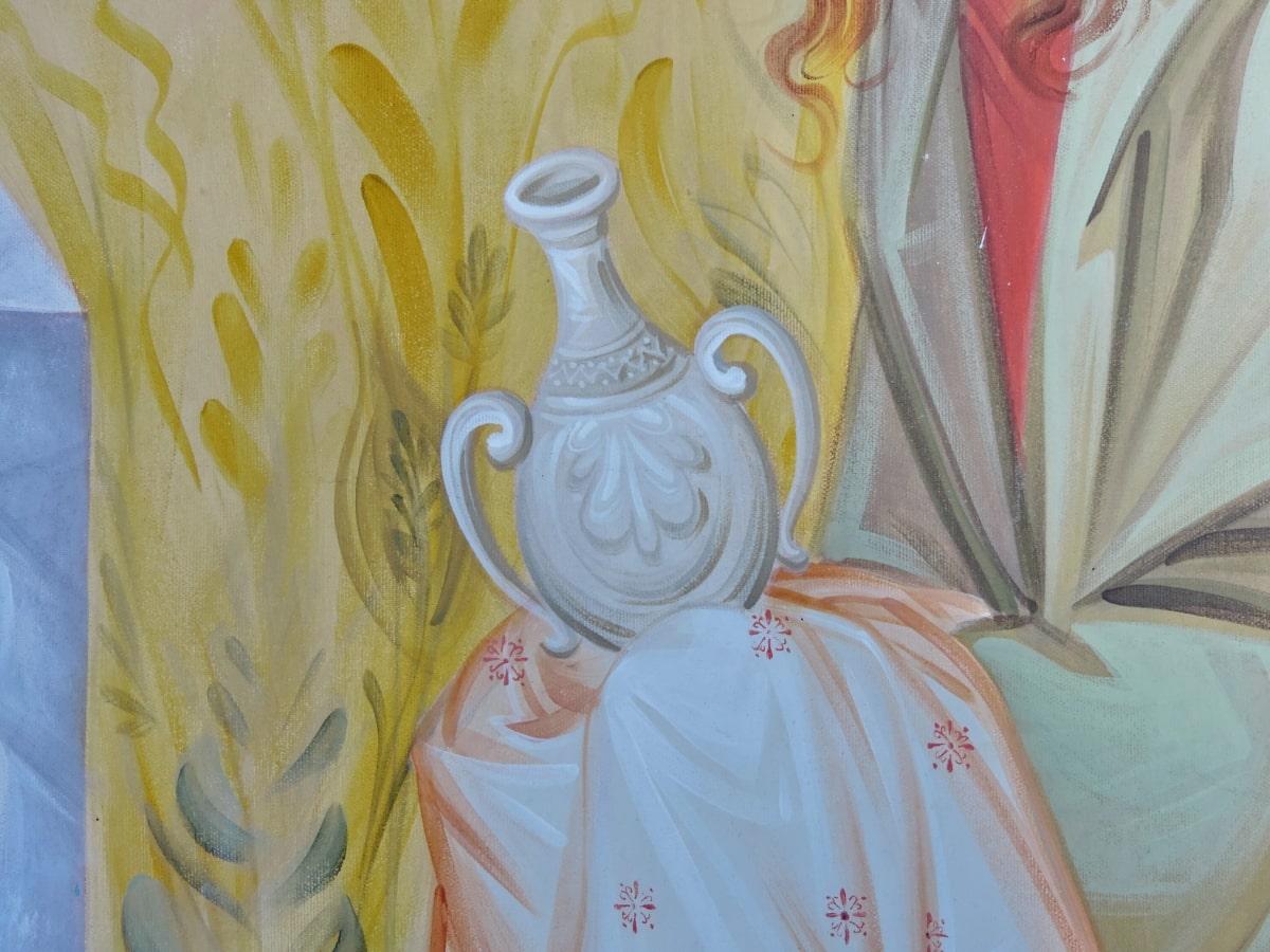 art, decoration, color, religion, design, painting, curtain, style