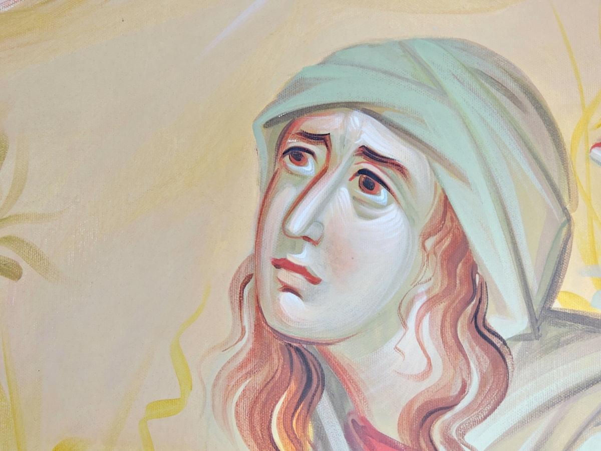 ansigt, hoved, læber, næse, Portræt, kvinde, skitse, kunst