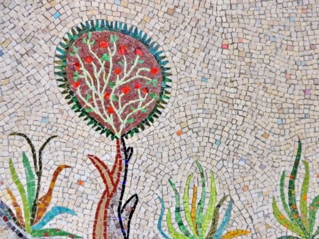 mosaic, representation, pattern, art, design, decoration, abstract, texture