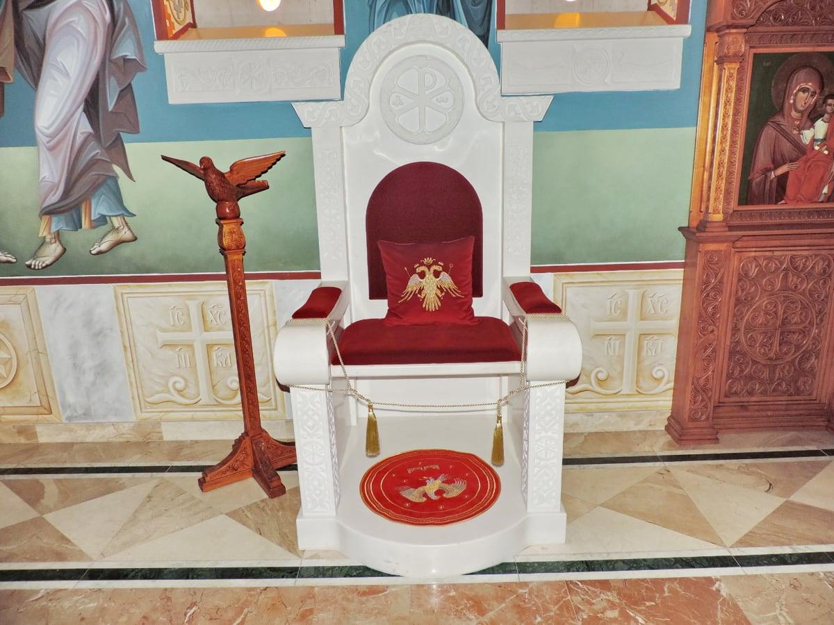 βάθρο, θρησκεία, καρέκλα, αρχιτεκτονική, κάθισμα, έπιπλα, σε εσωτερικούς χώρους, εσωτερικό