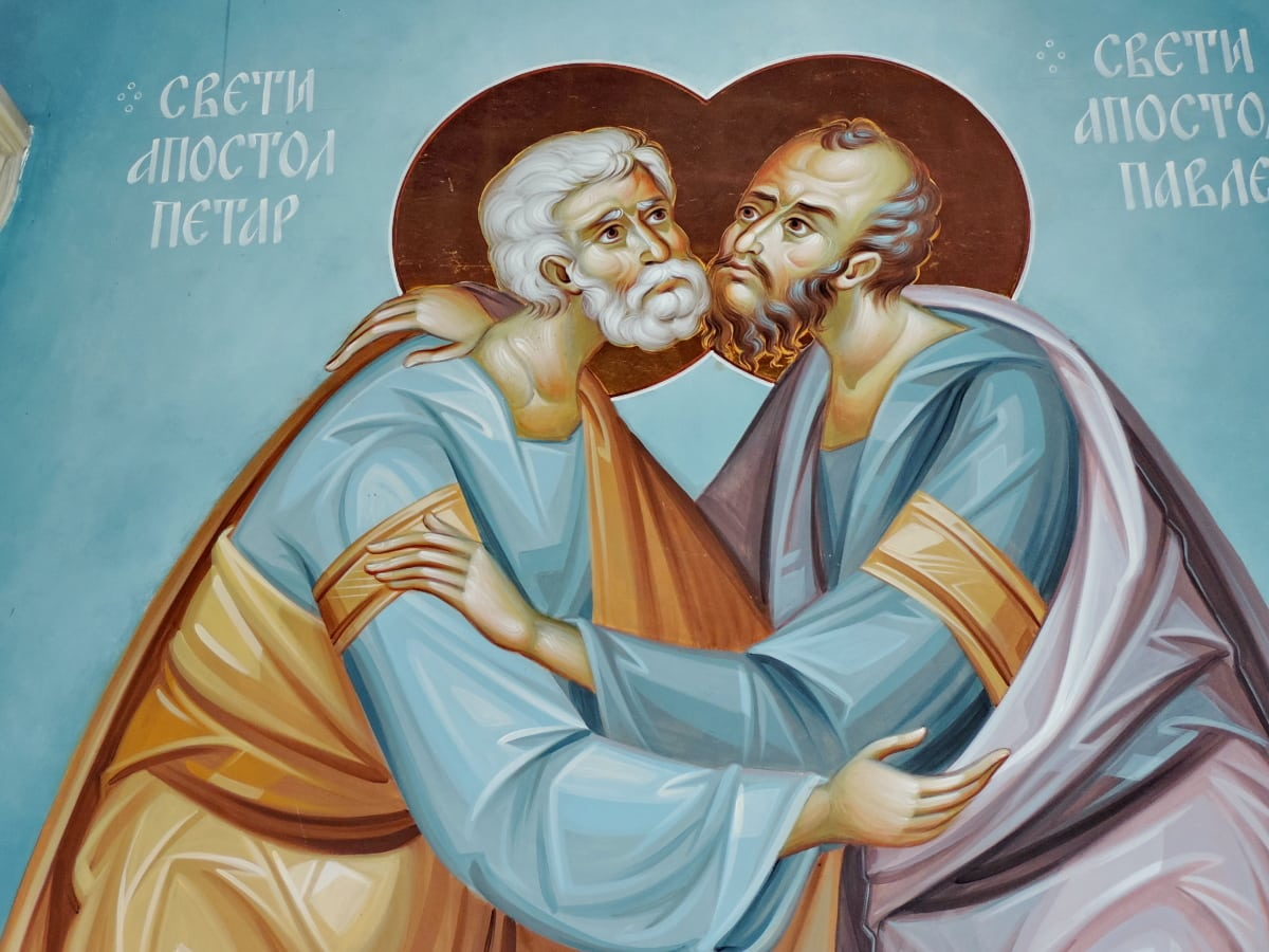 icon, orthodox, saint, religion, spirituality, art, people, illustration