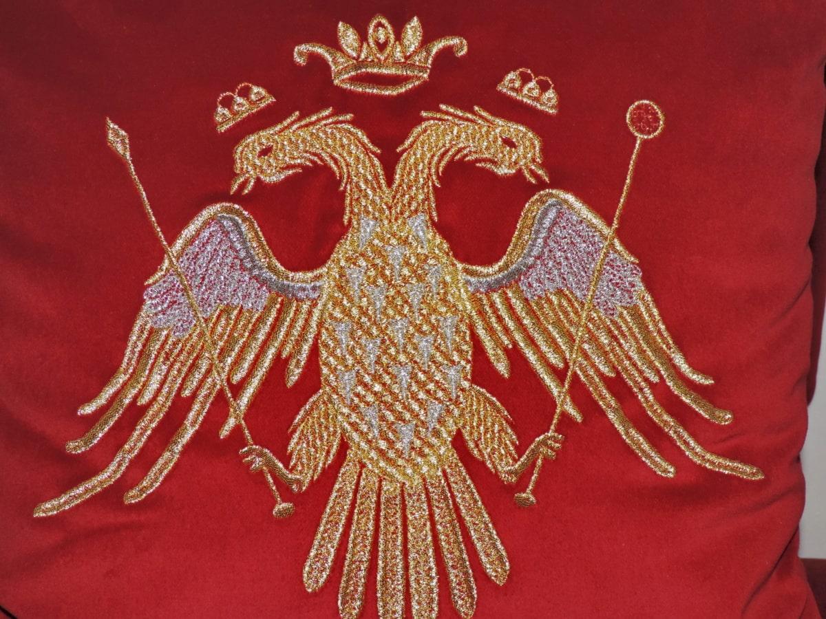 adelaar, heraldiek, sieraad, patriottisme, symbool, symmetrie, decoratie, kunst