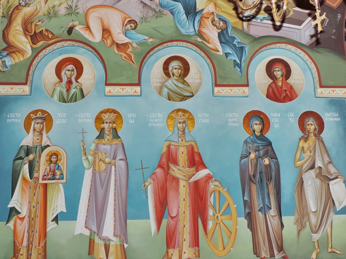 belief, colorful, icon, religion, art, church, spirituality, painting