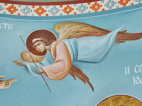 angel, christian, christianity, graphic, icon, spirituality, illustration, outdoors