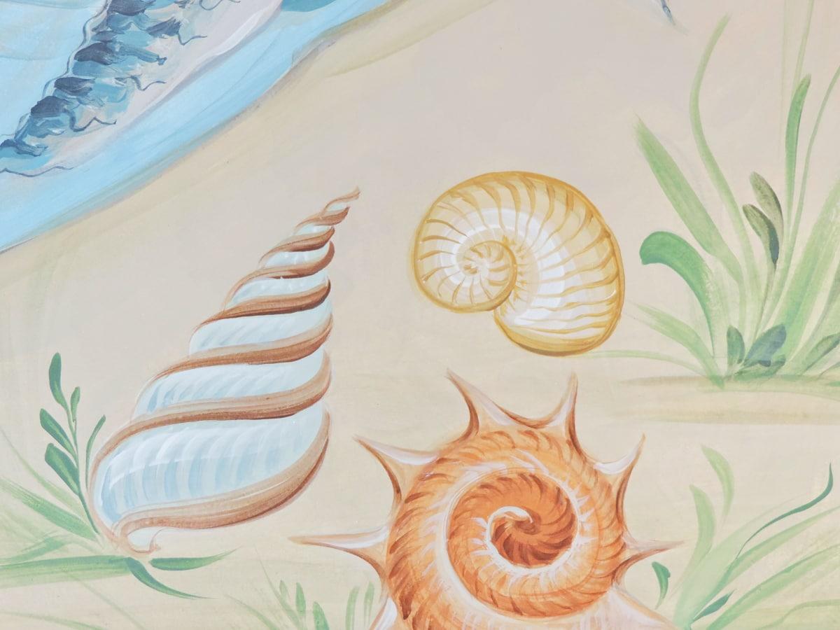 παραλία, χλόης παραλιών, γκράφιτι, τοιχογραφία, μαλάκιο, Σχεδιασμός, τέχνη, διακόσμηση
