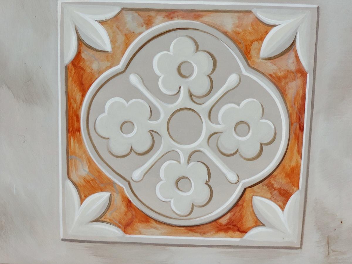 arabeska, orijentalni, dizajn, uzorak, dekoracija, umjetnost, tradicionalno, cvijet