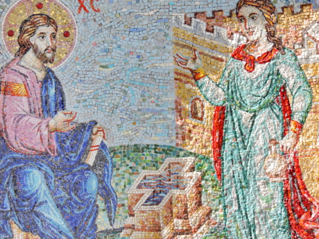 mosaic, religion, art, jigsaw puzzle, illustration, spirituality, culture, people