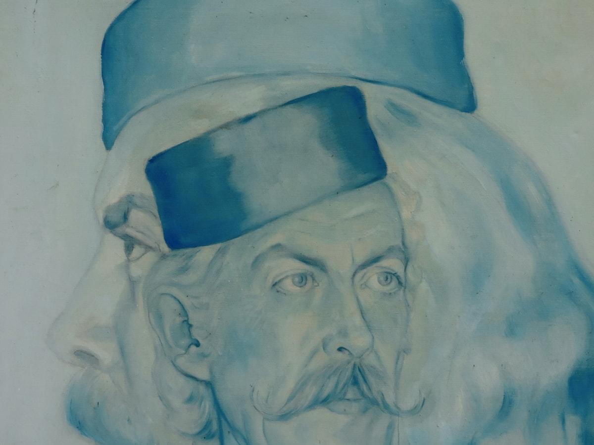kreativnost, fina umjetnost, portret, odjeća, umjetnost, lice, skulptura, čovjek