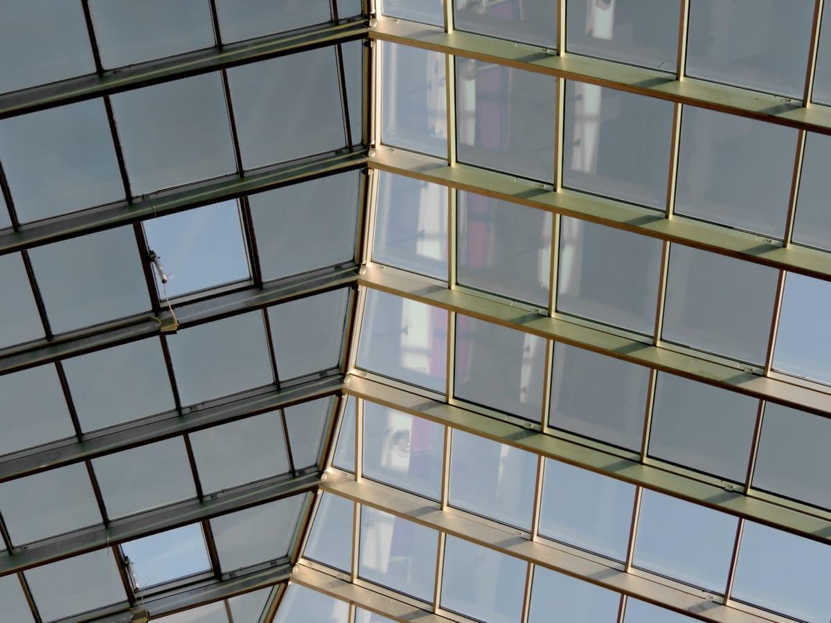 geometriska, fönster, Skapa, glas, urban, moderna, arkitektur, fönster