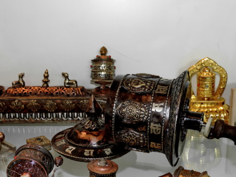 antique, art, object, old, gold, table, decoration, religion