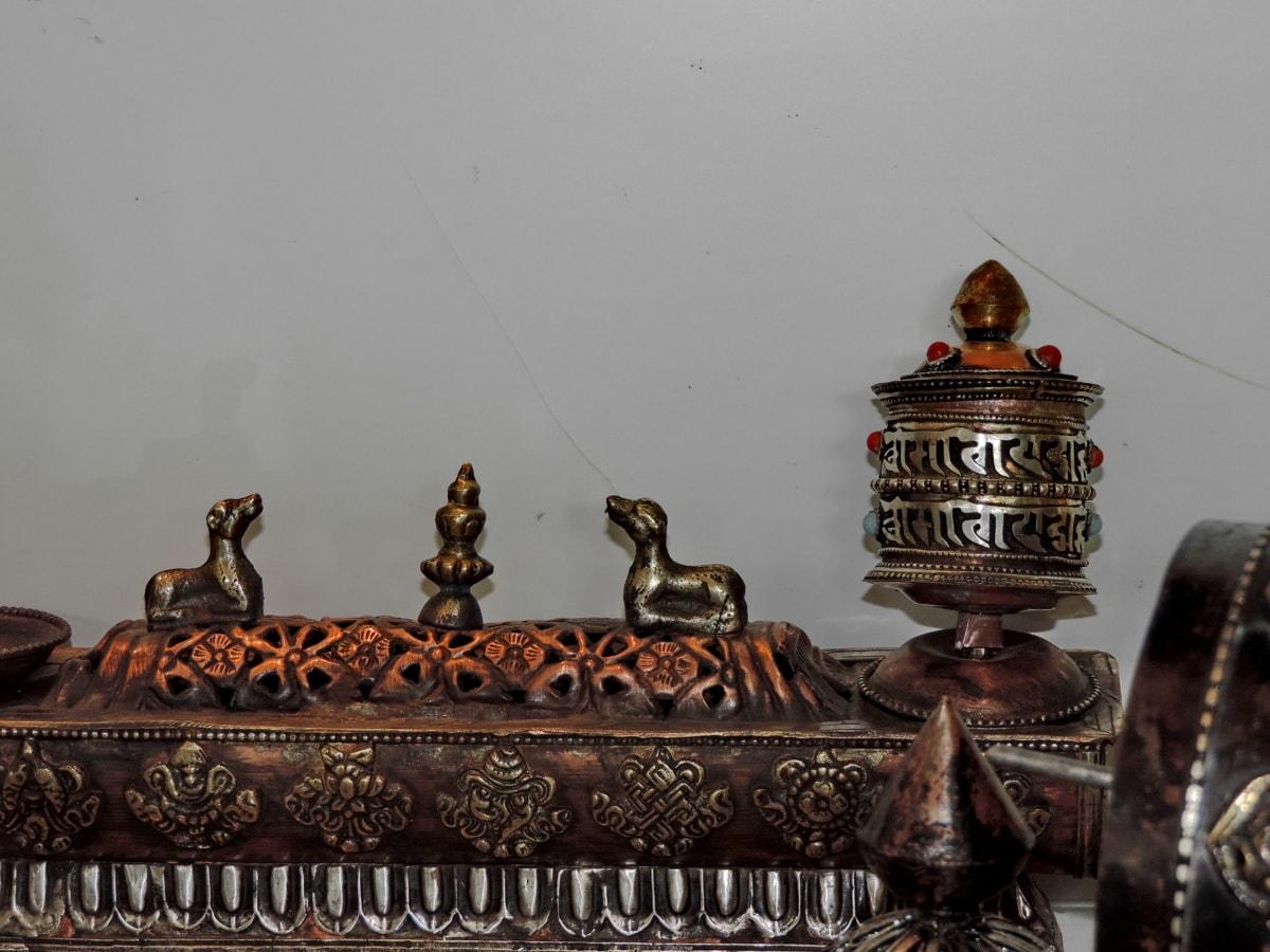 vallás, épület, antik, ősi, Művészet, hagyományos, régi, szobrászat