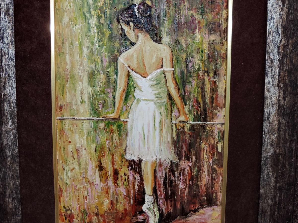 képzőművészet, Galéria, ruha, Művészet, nő, emberek, festészet, fal