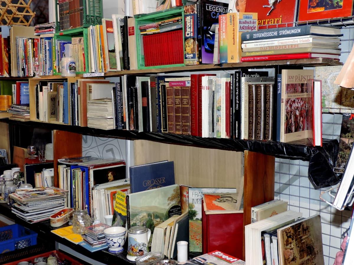 βιβλίο, βιβλιοθήκη, βιβλία, ράφι, Βιβλιοπωλείο, εκπαίδευση, έπιπλα, σε εσωτερικούς χώρους
