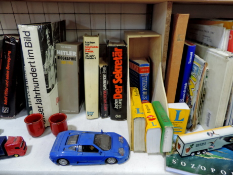 bookshelf, car, toys, shelf, business, industry, stock, education
