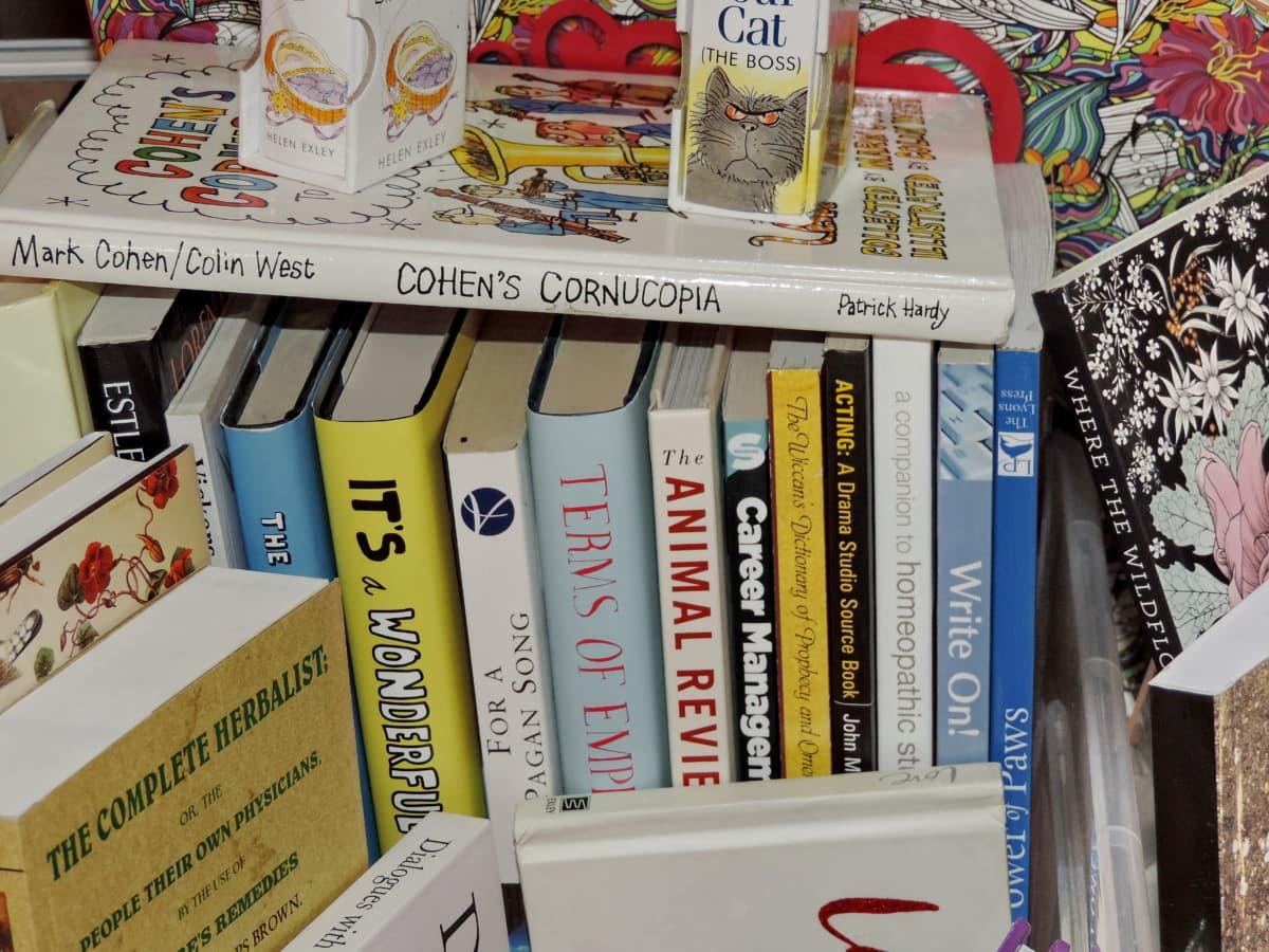 βιβλία, Βιβλιοπωλείο, Βιβλιοπωλείο, ράφι, επιχειρήσεων, έρευνα, εκπαίδευση, χαρτί