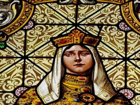 face, portrait, princess, sadness, stained glass, teardrop, church, decoration