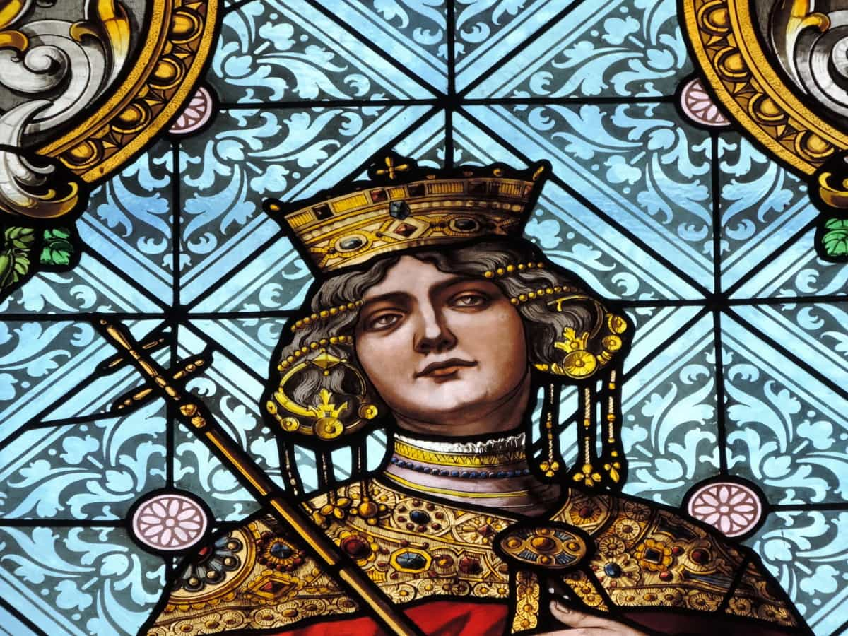 история, портрет, кралица, стъклопис, изкуство, декорация, модел, религия