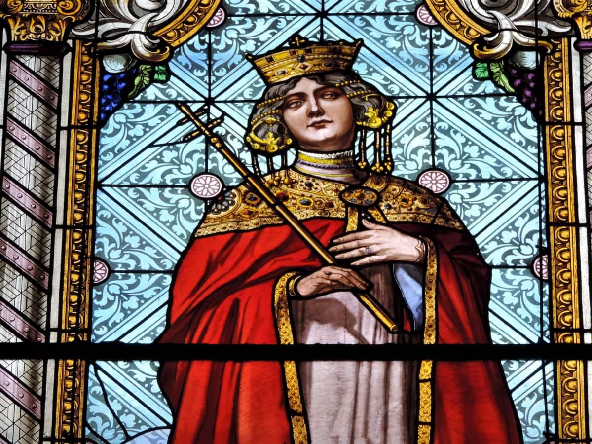 християнството, кралица, религия, църква, стъклопис, Свети, религиозни, катедрала