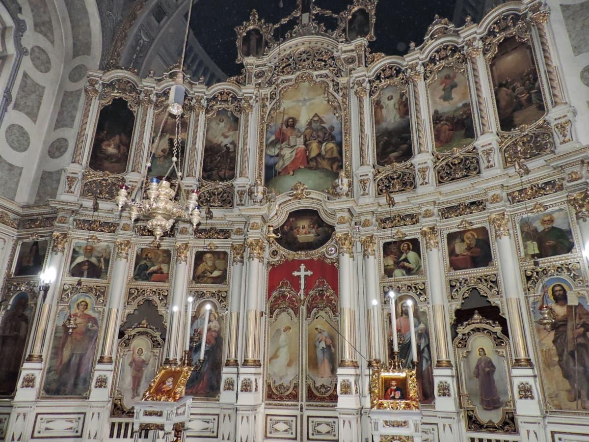 олтар, християнски, християнството, православна, структура, религия, църква, катедрала