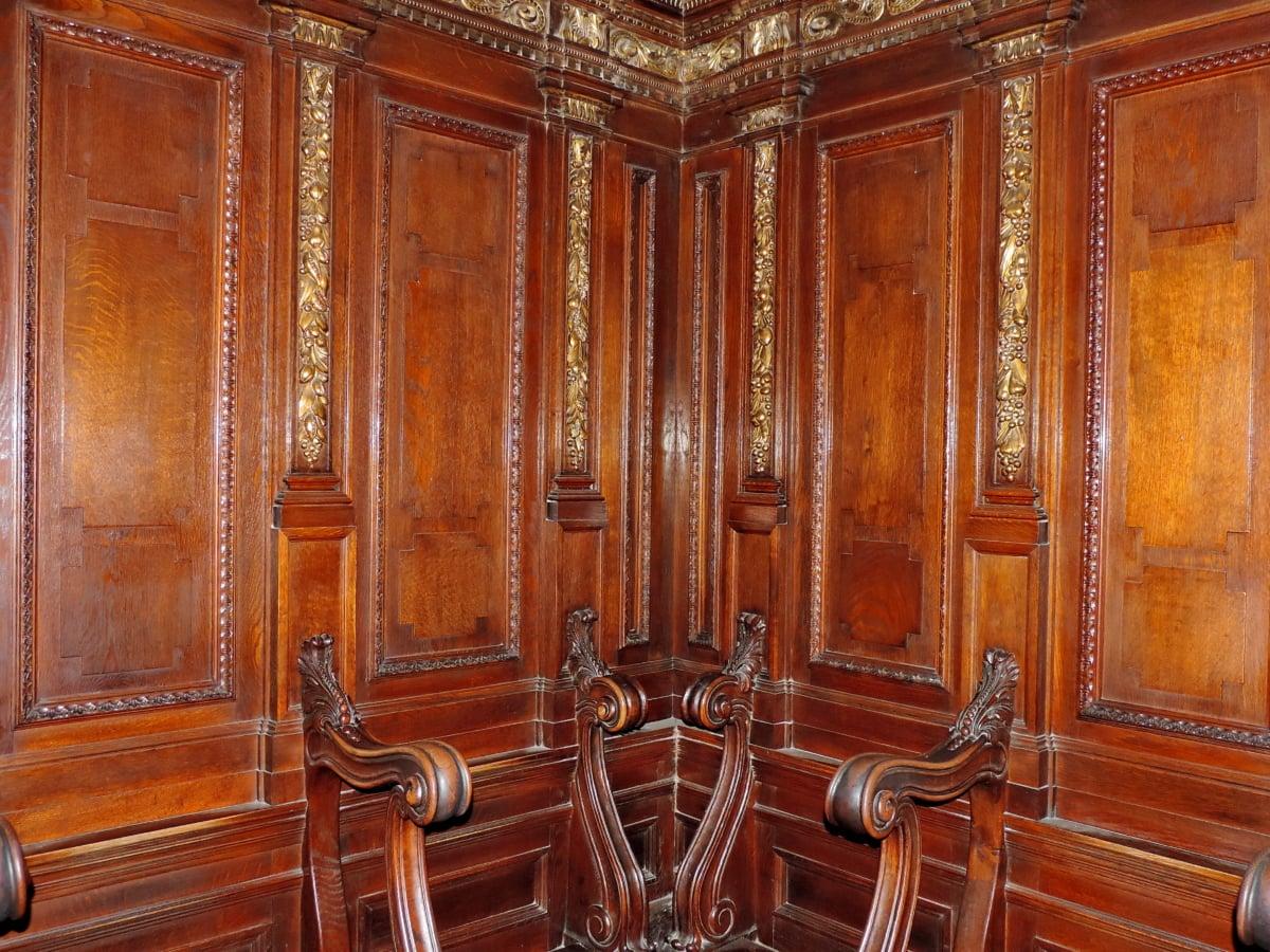 античні, стільці, ручної роботи, Орнамент, Меблі, Старий, шафа, дерев'яні