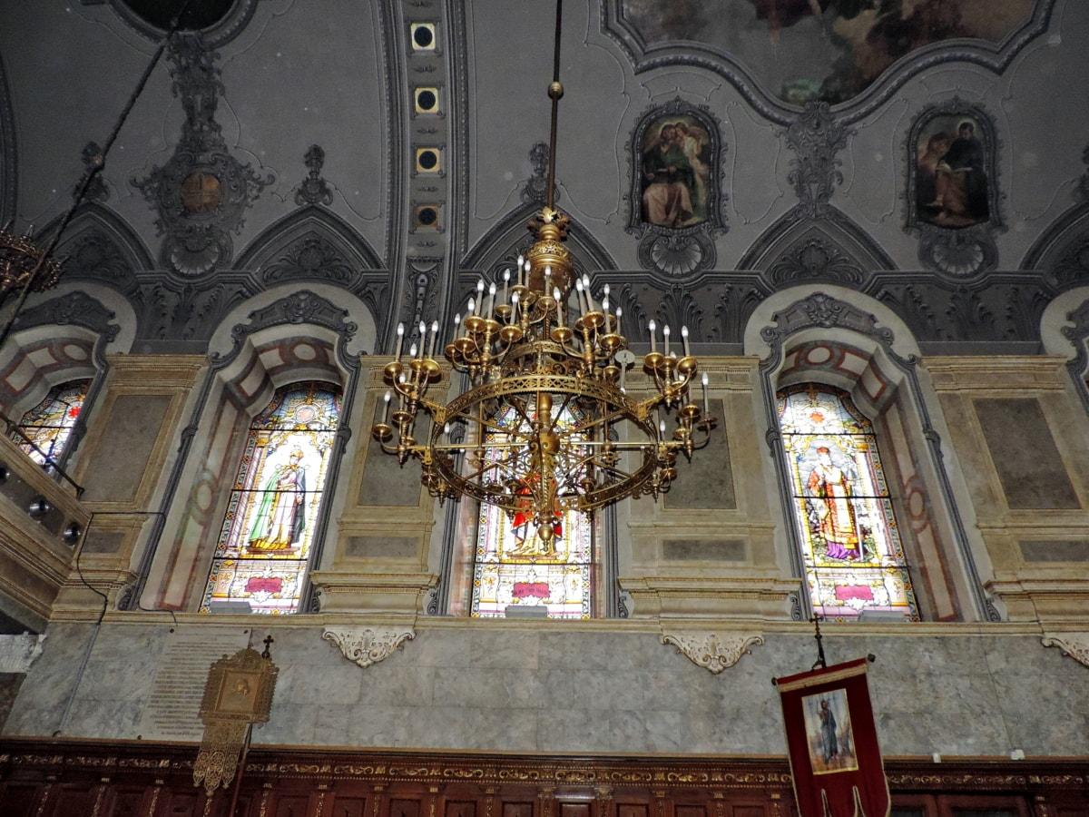 πολυέλαιος, βωμός, θρησκεία, Εκκλησία, Καθεδρικός Ναός, δομή, κτίριο, αρχιτεκτονική
