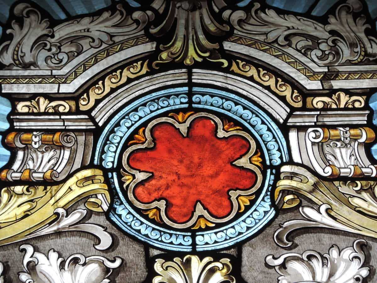 stained glass, art, decoration, design, pattern, old, antique, religion