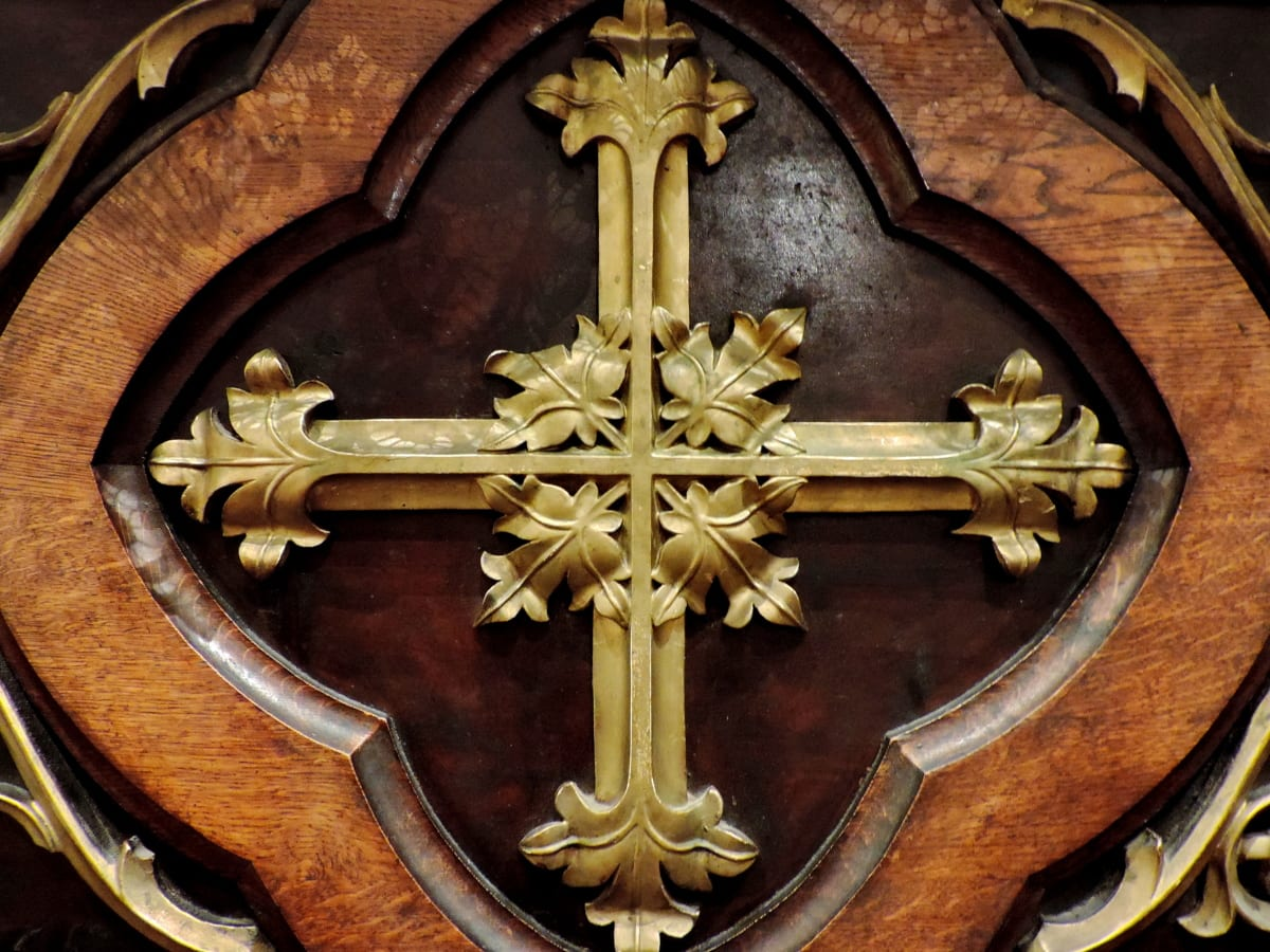 carving, detail, church, covering, sculpture, old, religion, art