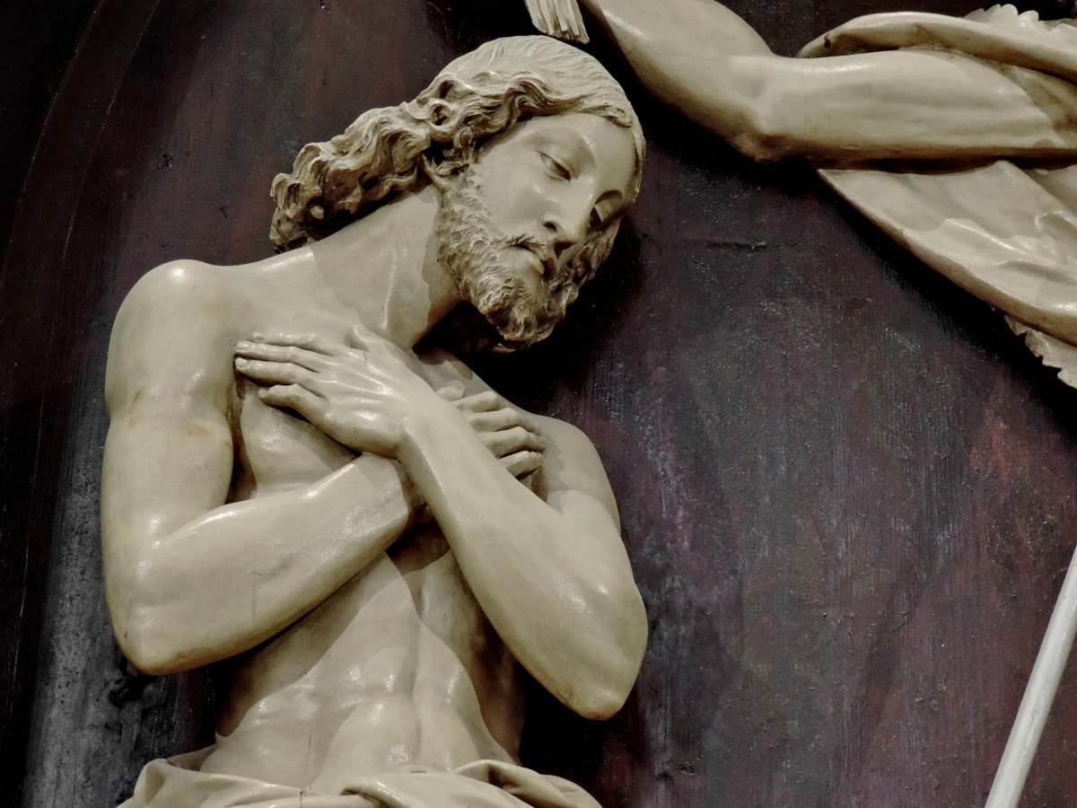 Kristus, Kekristenan, marmer, kebangkitan, patung, seni, patung, agama
