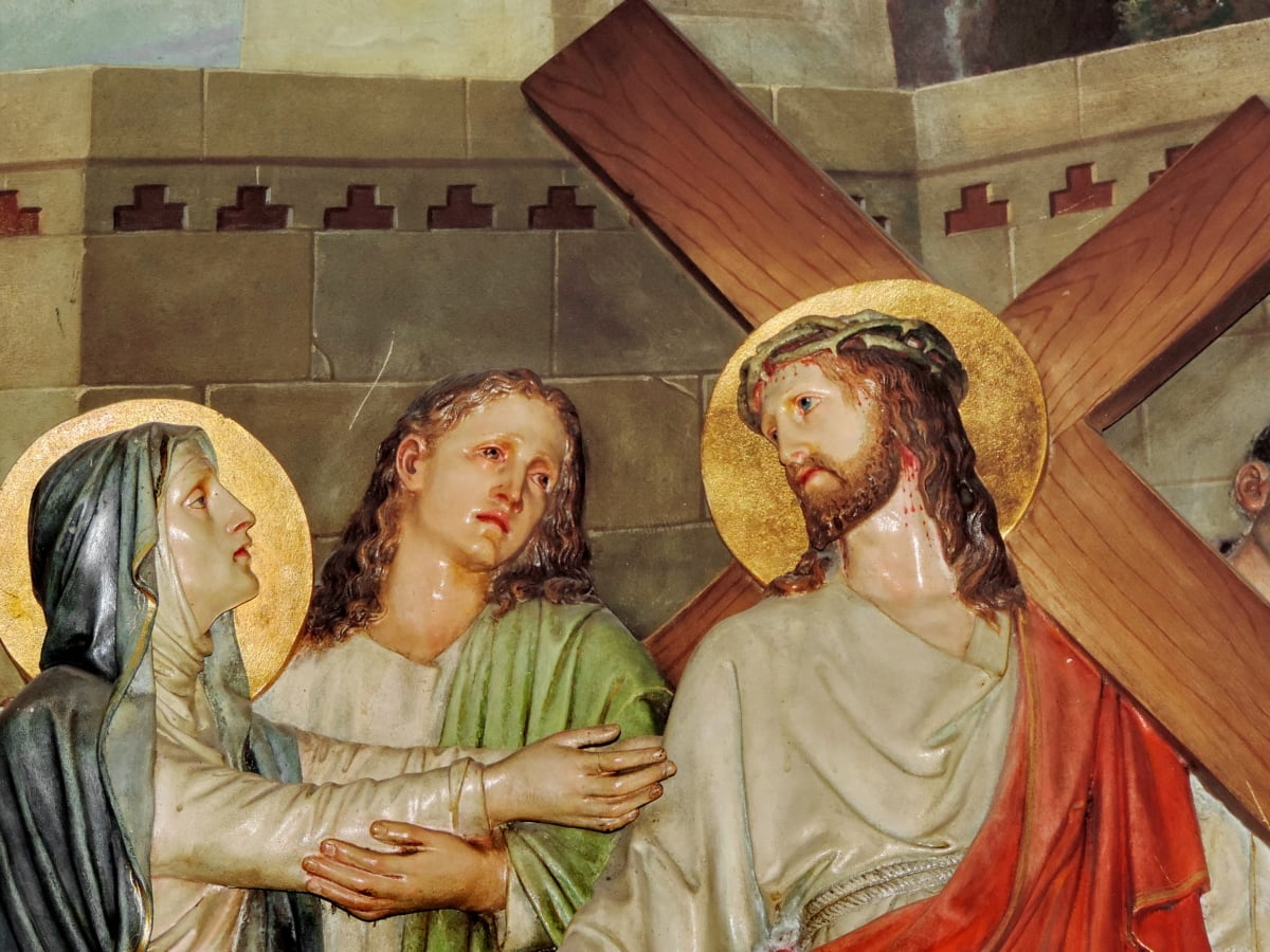 Kristus, kristendommen, genfødsel, opstandelse, kvinder, folk, religion, kvinde