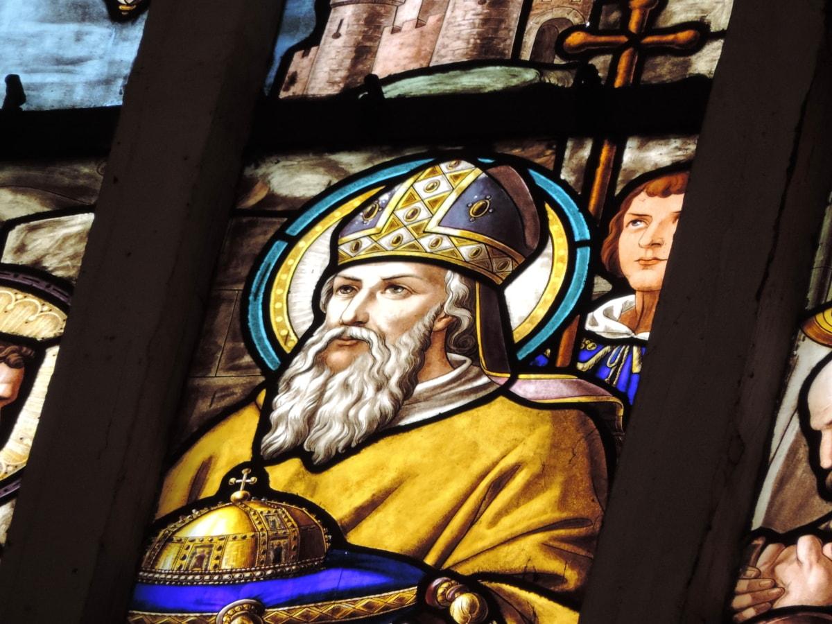 king, kingdom, stained glass, religion, church, people, art, spirituality
