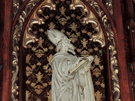 baroque, cathedral, catholic, saint, sculpture, carving, religion, art