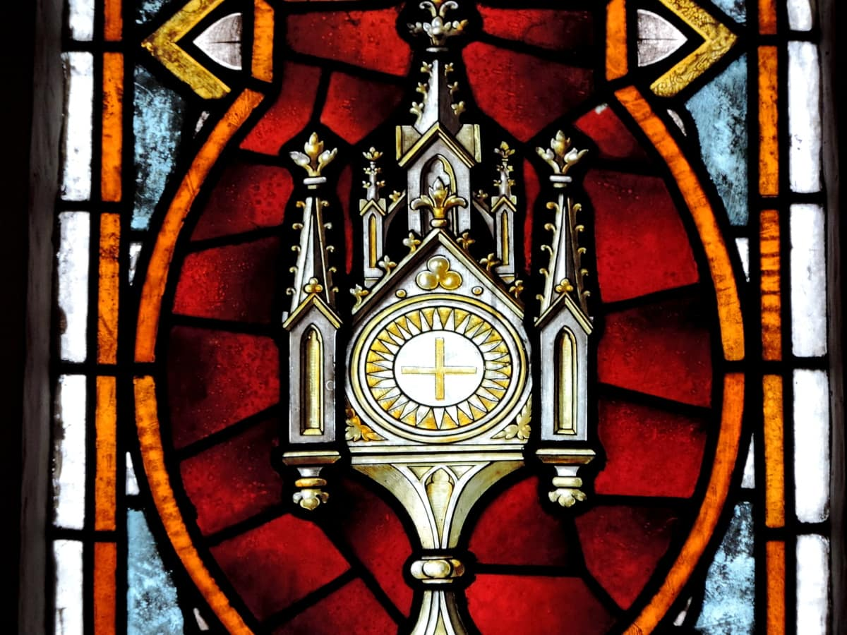 architecture, stained glass, religion, art, religious, inside, window, old