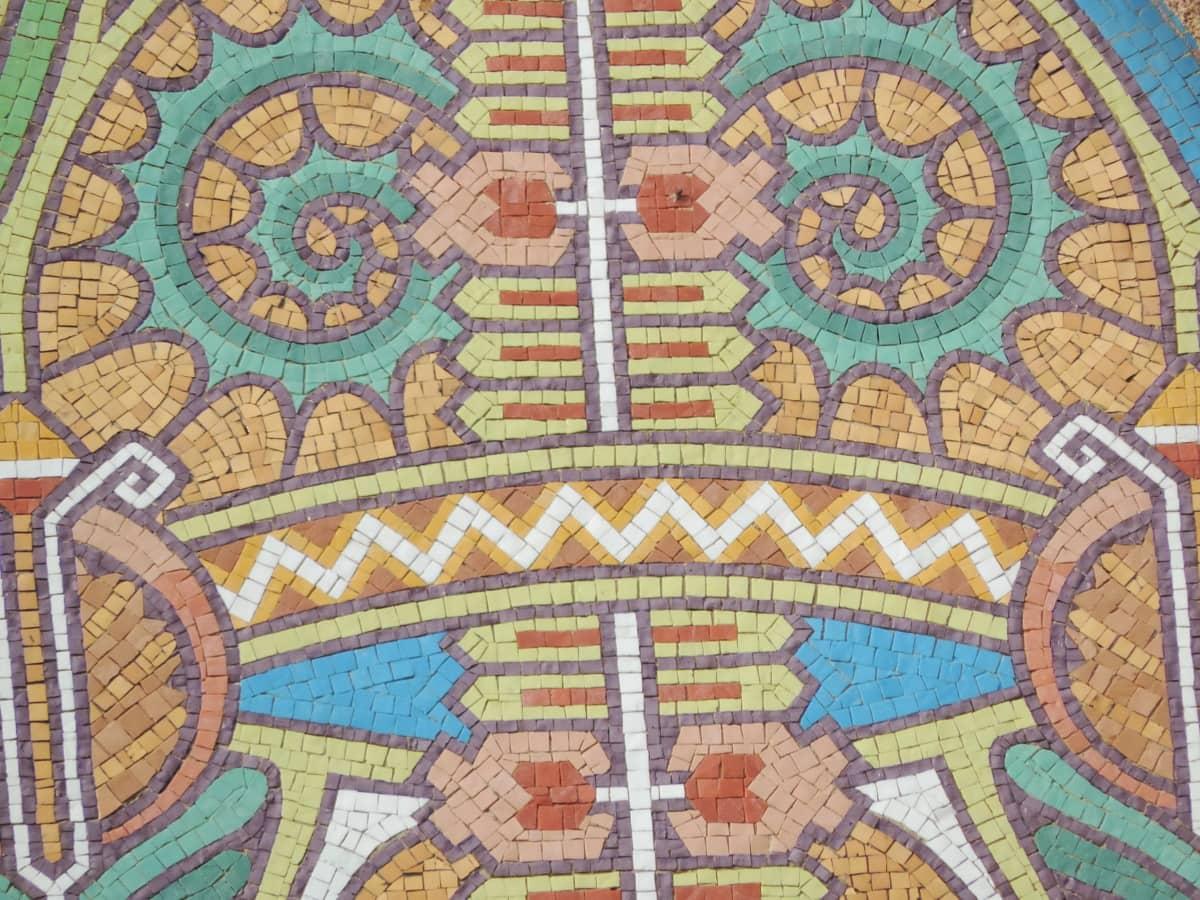 arabeska, šarene, ručni rad, mozaik, simbol, simetrija, uzorak, umjetnost