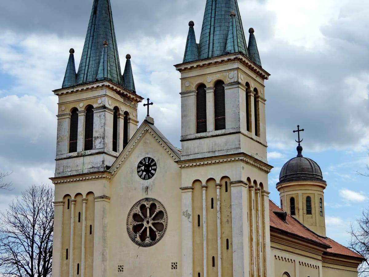 Καθεδρικός Ναός, καθολική, Μοναστήρι, λατρεία, θρησκεία, αρχιτεκτονική, πρόσοψη, Εκκλησία