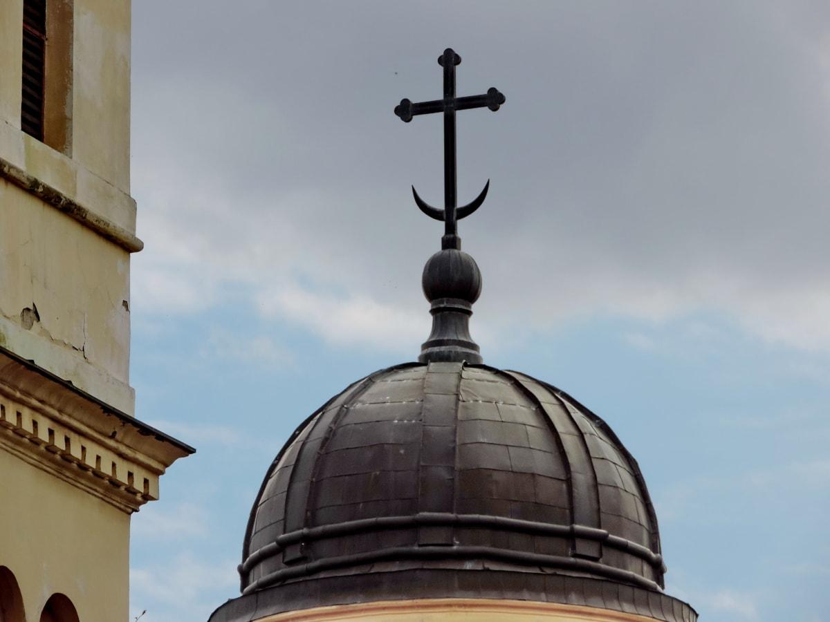 кръст, Небето, наследство, Исляма, религия, купол, архитектура, църква