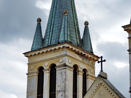 church tower, gothic, worship, building, tower, church, architecture, religion