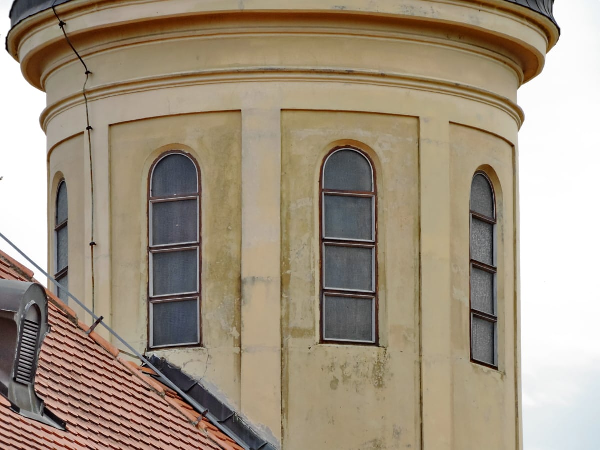 kirketårnet, Gotisk, arv, vindue, vindue, bygning, arkitektur, facade